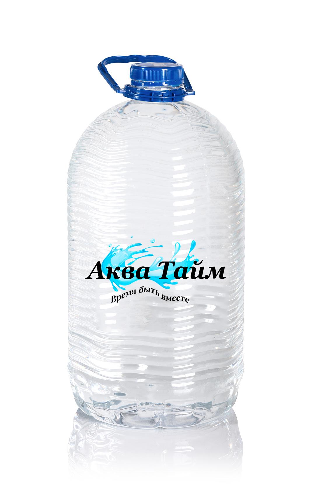 Питьевая вода «АКВА Тайм» 6л